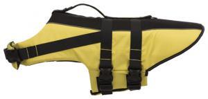 Flytväst för hund,XS: 28 cm: 30-50 cm, gul/svart
