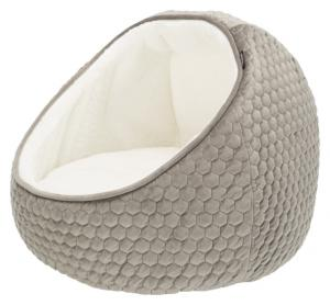 Igloo Livia,  ø 55 × 45 cm, taupe/cream