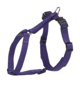 Premium kattsele med koppel, XL,33-57 cm/13 mm, 1.20 m, violett