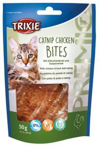 PREMIO Catnip Chicken Bites, 50 g