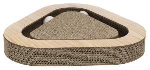Klöstriangel, wellpapp med trä-look,36 × 5 × 36/36 cm