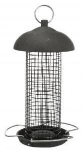 Vildfågelmatare jordnöt, 560 ml/ø 10 cm, svart