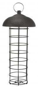 Vildfågelmatare talgboll, ø 10 × 21 cm, svart
