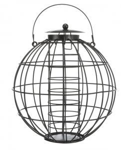 Vildfågelmatare talgboll, ø 22 × 24 cm, svart