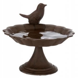 Fågelbad stående, gjutjärn, 250 ml/ø 16 cm
