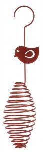 Vildfågelmatare, för talgbollar, ø 7 × 35 cm
