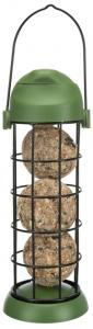 Vildfågelmatare, för talgbollar ø 8 × 22 cm, grön