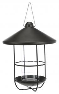 Vildfågelmatare 500 ml, ø 19 cm, svart