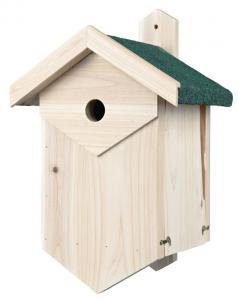 Fågelholk för hålhäckande fåglar, 25 × 40 × 22 cm
