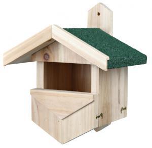 Fågelholk för sekundära hålhäckare, 25 × 31 × 21 cm
