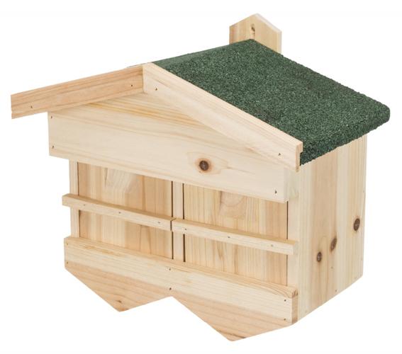Fågelholk för sparvar, 33 × 30 × 21 cm