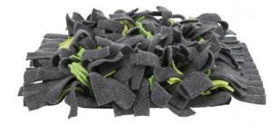 """Aktivitetsfilt """"Sniffing Carpet"""" 27 × 20 cm, grå/grön"""""""