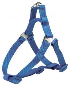 (BV)Premium OneTouch sele, M: 50-65 cm/20 mm, blå