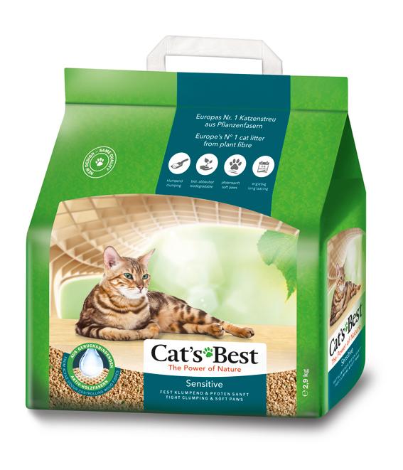 Cat's Best Sensitive/GreenPower 8 L Klumpbildande