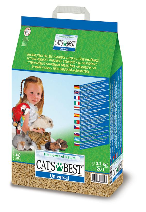 Cat's Best Universal Träpellets 10 L
