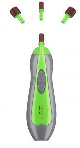 Kloslip Moser, batteridriven, 2-speed åt varje håll, 4 slipstift