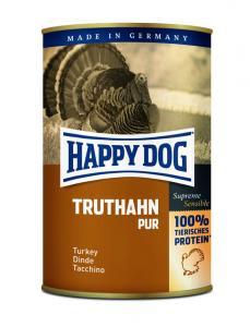 HappyDog konserv, GrainFree, 100% kalkon 400 g