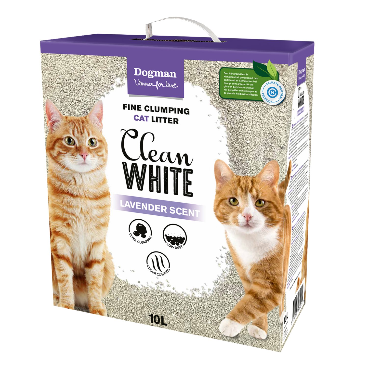 Kattsand Clean White 10L
