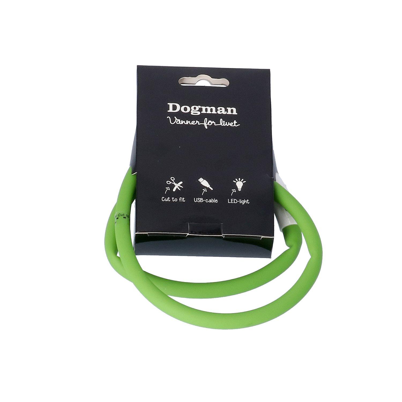 LED-ring silicon Grön