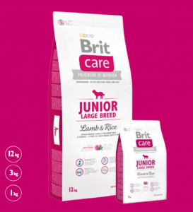 Brit Care Junior Large Lamb & Rice 1 kg