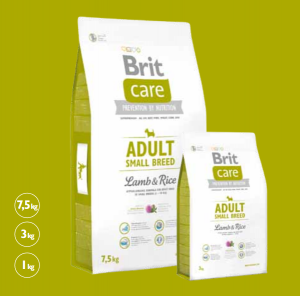 Brit Care Adult Small Lamb & Rice 7,5 kg