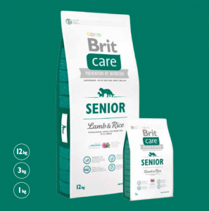 Brit Care Senior Lamb & Rice 1 kg