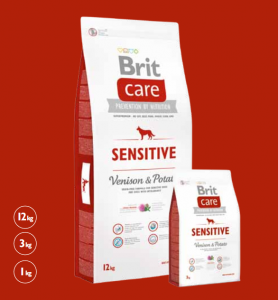 Brit Care Venison / Sensitive (Vilt & Potatis) 12 kg