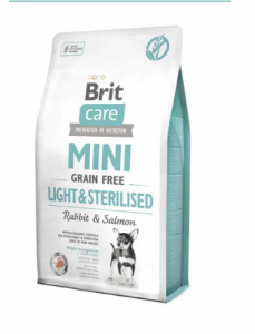 Brit Care Mini Grain Free Light & Sterilised 2 kg