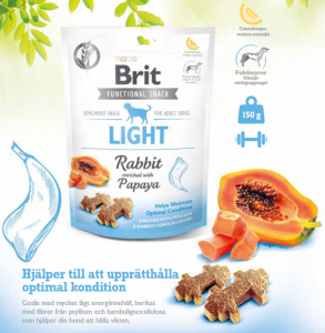Brit Functional Snack Light Rabbit 150 g