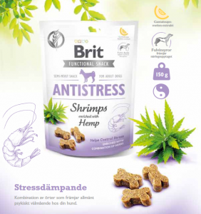 Brit Functional Snack Antistress Shrimps 150 g