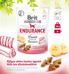 Brit Functional Snack Endurance Lamb 150 g