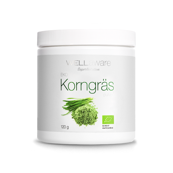 WellAware Korngräs, ekologiskt, 120 gr
