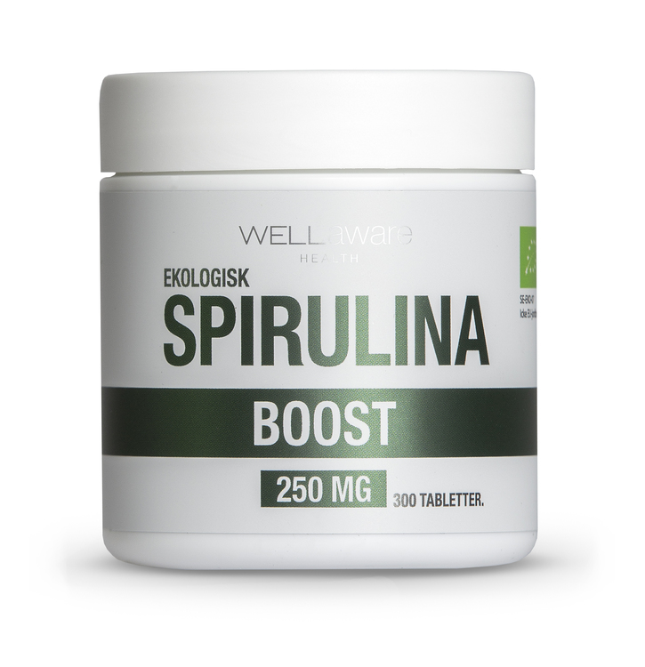 WellAware EKO Spirulina tabletter, 6-pack