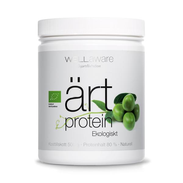 WellAware EKO Ärtprotein 500g