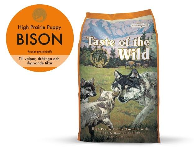Taste of the Wild High Prairie Puppy 13 kg