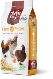 Hobby First, Farm 3 Pellet - Värp pell. 20 kg