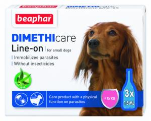 beaphar Flea & Tick Line On Small dog 3*1,5ml