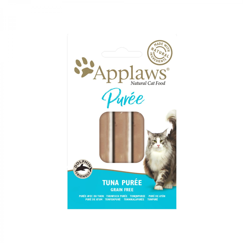 Applaws katt påse Godis Tonfiskpuré 8x7 g