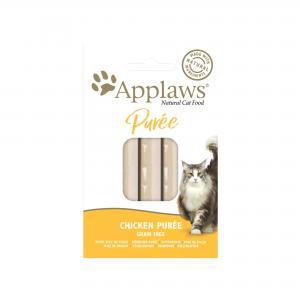 Applaws katt påse Godis Kycklingpuré 8x7 g