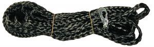 Elastiskt dragkoppel 4m svart