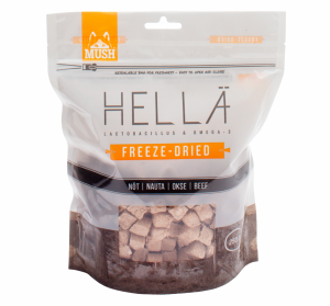 MUSH Hellä Freeze-Dried Nöt 250 gram