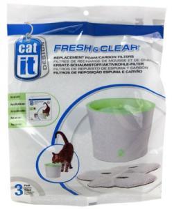 KOLFILTER TILL 3L FRESH & CLEAR 3ST CATIT