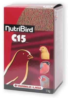 NUTRIBIRD C15 PELLETS FÖR KANARIE OCH FINK 1KG