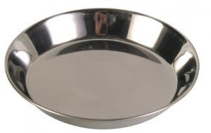 Matskål katt rostfri 0,25  L 13 cm