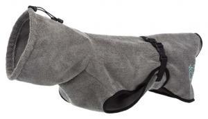Badrock, frotté, M: 50 cm, grå