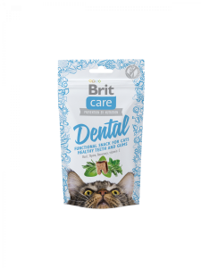 Brit Care Cat Snack Dental (kalkon) 50g