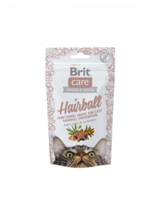 Brit Care Cat Snack Hairball (anka) 50g
