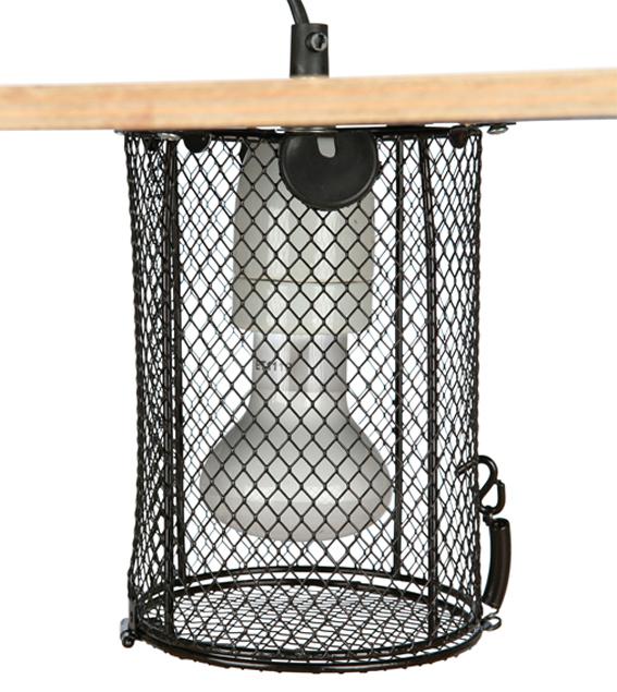 Skyddsbur för terrarielampa, ø 15 × 22 cm