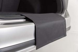 Bilskydd för bagagerutrymme, vikbar kofångarskydd, 60x50 cm, svart