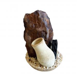 Plastväxt Jar Stone Gravel Base Sydeco